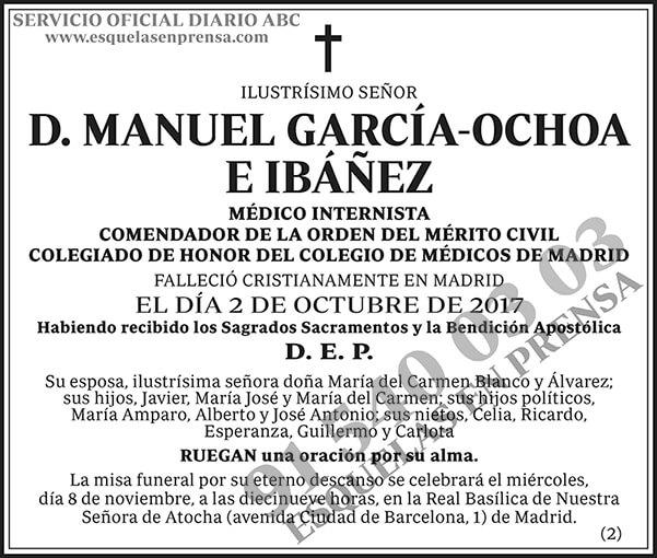 Manuel García-Ochoa e Ibáñez